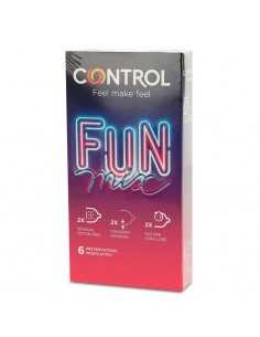 Preservativos Fun Mix 6...