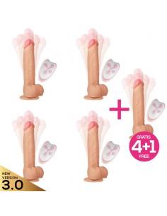 Pack 4+1 Cesur 3.0 Dildo...